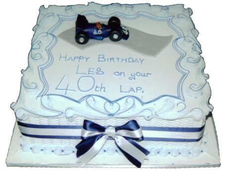 40th Lap racing car