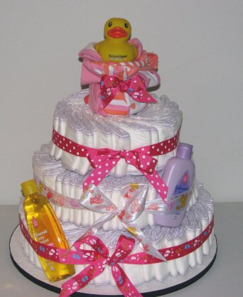 Nappy Diaper Cake