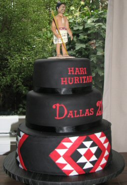 Mauti Warrior 21st Birthday cake