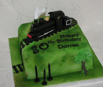 nz steam train cake